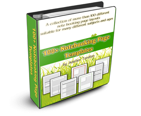100+ Notebooking Page Templates