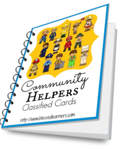 Montessori Classified Card can help learners to learn language and contents in various study. Here is a set of 24 items community helper classified cards.