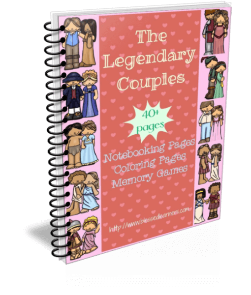 The Legendary Couples Printables