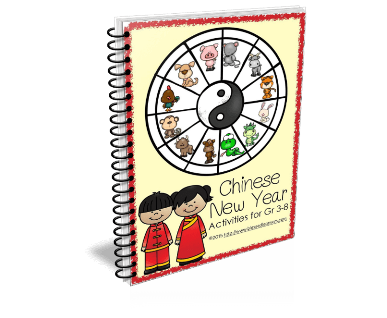 Chinese New Year Activities for Grade 3 - 8 contains suggestions of activities helping learners to research and record their study of the Chinese New Year.