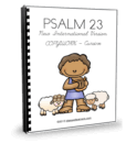 Psalm 23 is one of many famous chapters taken from the scriptures. Many Christians love this chapter. Get the most out of the copywork with Psalm 23 NIV.